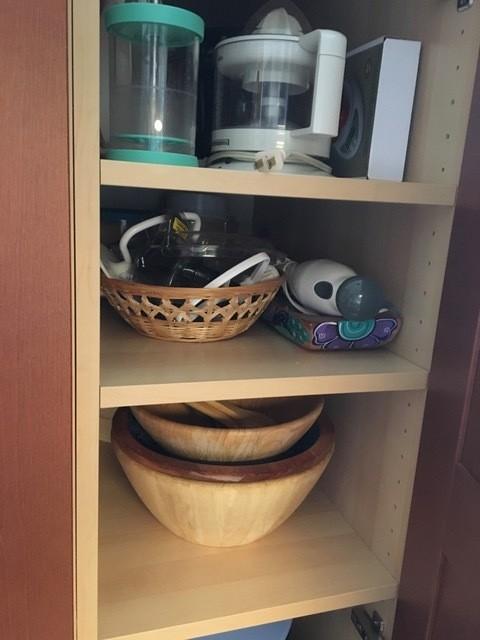 Kitchen Storage After
