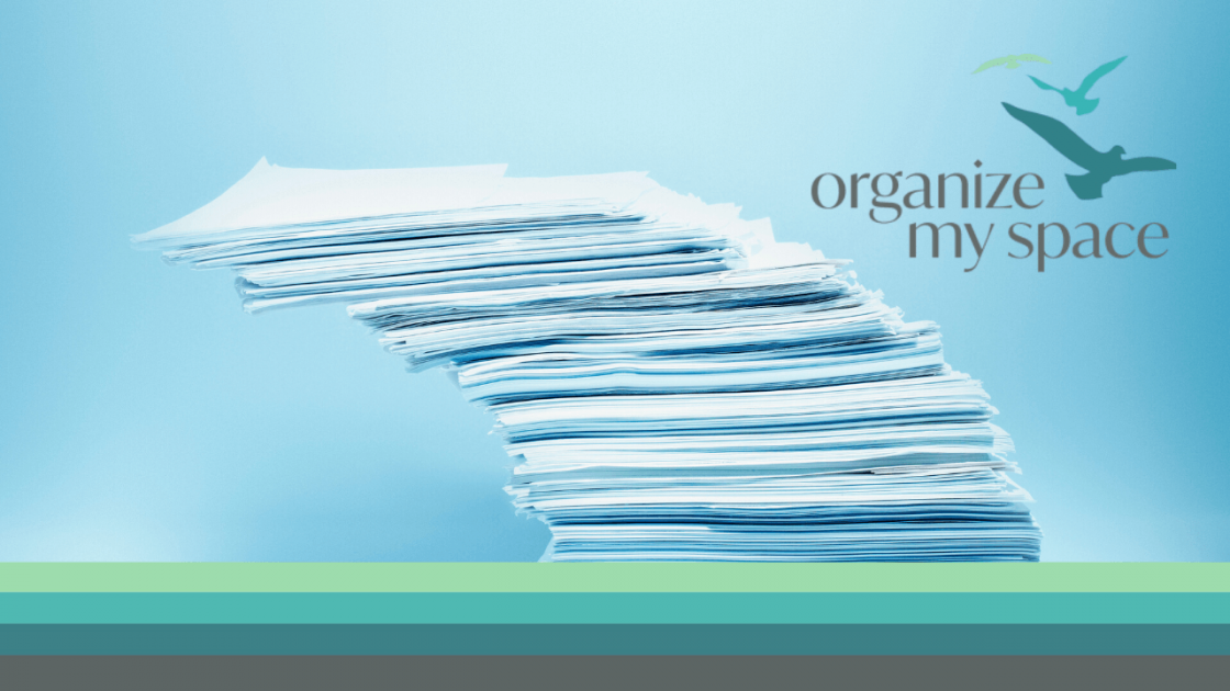 FB - How to Organize Your Paper Clutter