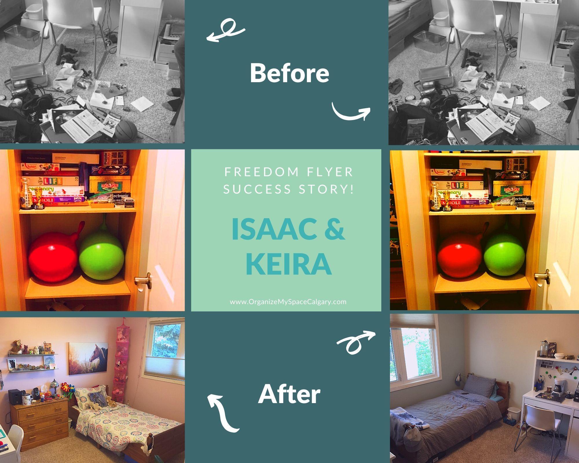 Freedom Flyer Isaac Keira