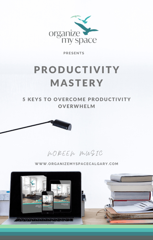 Productivity Mastery - 5 Keys to Overcome Productivity Overwhelm